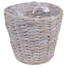 Плетена кашпа - ØxВ: 25х23...