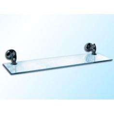 Стъклена полица Lux, 500х120х8 мм