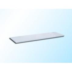 Стъклена полица, матирана, 500х120х6 мм