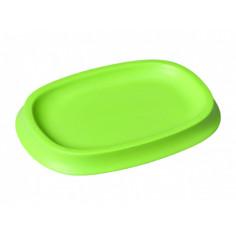 Сапунерка полирезин, зелена