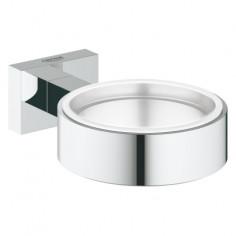 Държач за чаши, сапунерки, дозатори Grohe Essentials Cube, хромиран
