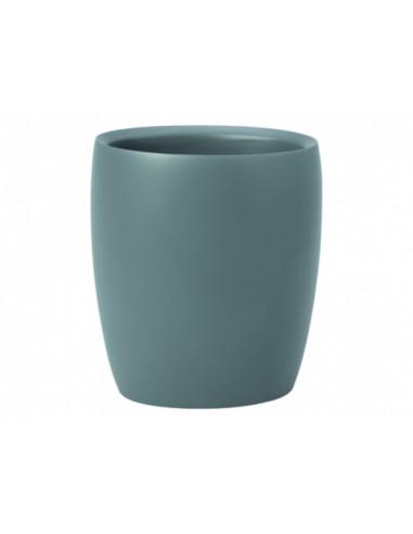 Чаша за баня Flakoni, полирезин, сива