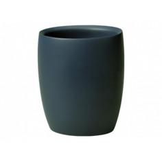 Чаша за баня Flakoni, полирезин, черна