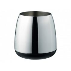 Чаша за баня Susi, черна, хромирана