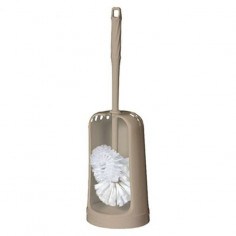 Комплект четка за тоалетна Kuba Lux Beige, бежов