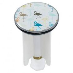 Дизайнерска тапа за умивалник Flamingo, 4 см