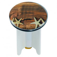 Дизайнерска тапа за умивалник Shells, 4 см