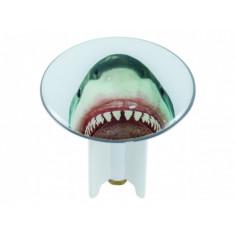 Дизайнерска тапа за умивалник, 6,3 см, Sharky