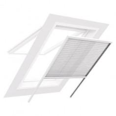 Комарник за тавански прозорци, плисе, 110x160 см