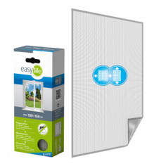 Комарна мрежа Elastic, антрацит, 130x150 см