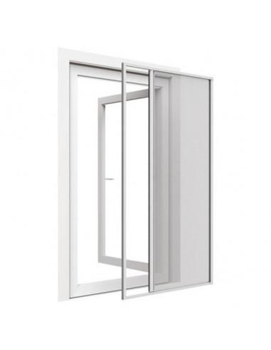 Комарник за врата, странична щора ролo, 160x220 см