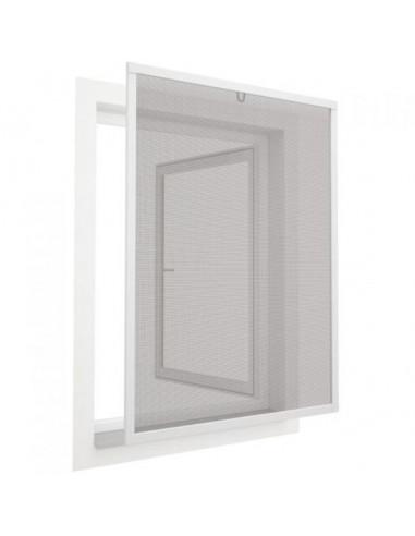 Комарник за прозорец, клипс, 80x100 см