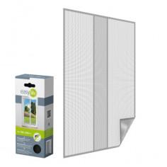 Комарна мрежа за врата, антрацит, 110x210 см