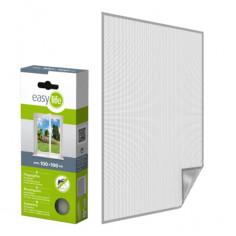 Комарна мрежа, бяла, 100x100 см