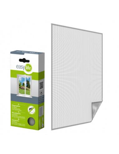 Комарна мрежа, бяла, 110x130 см