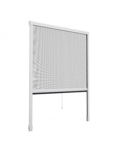 Комарник за прозорец, щора ролo, 110x160 см