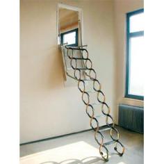Imagén: Стълба за стена LUSSO VERTIKAL - 90x70 см, без изолация, с талашитен капак
