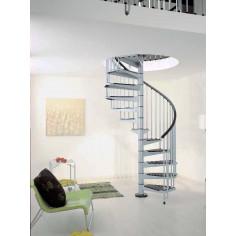 Imagén: Метална вита стълба CIVIK, интериорна, диаметър - Ø: 120, 140, 160 см