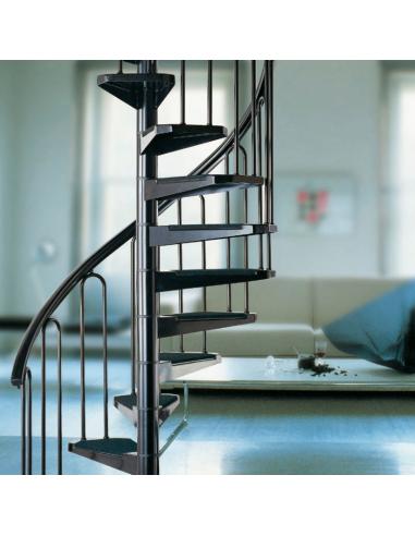 Метална вита стълба AF 26, интериорна, диаметър - Ø: 100, 110, 120, 130 см