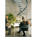 Външна вита стълба CIVIK ZINK, метална, диаметър - Ø: 120, 140, 160 см