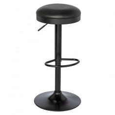 Бар стол - черен,...