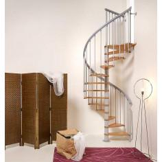 Imagén: Вита стълба NICE 1 с лакирани стъпала, диаметър - Ø: 130 см