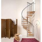 Вита стълба NICE 1 с лакирани стъпала, диаметър - Ø: 130 см