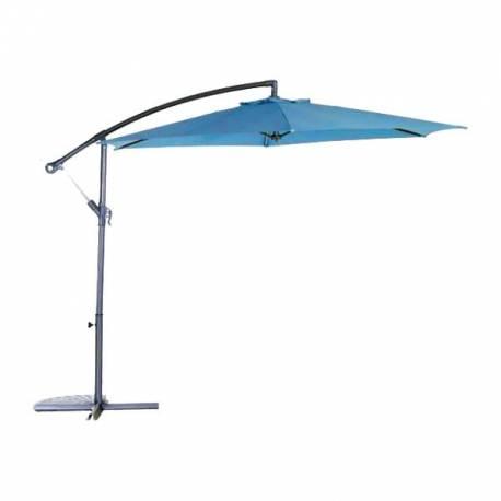 Градински чадър - тип камбана - син