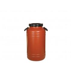 Бидон 60 литра с дръжки - пластмасов