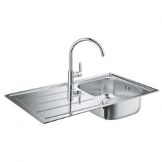Комплект кухненска мивка K200 и смесител Grohe