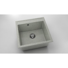 Imagén: Кухненска мивка ФАТ Polar 22521900 - Граниксит, 51х51 см