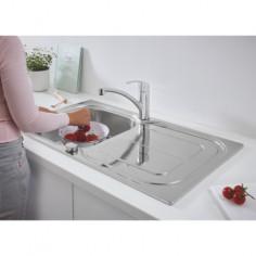 Imagén: Комплект кухненска мивка K300 и смесител Grohe