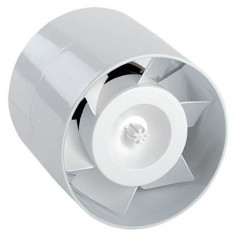 Тръбен вентилатор, Ø125 мм, бял