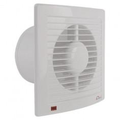 Вентилатор Economic Timer, Ø100 мм, бял, с таймер