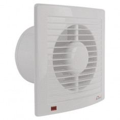 Вентилатор Economic Timer, Ø125 мм, бял, с таймер