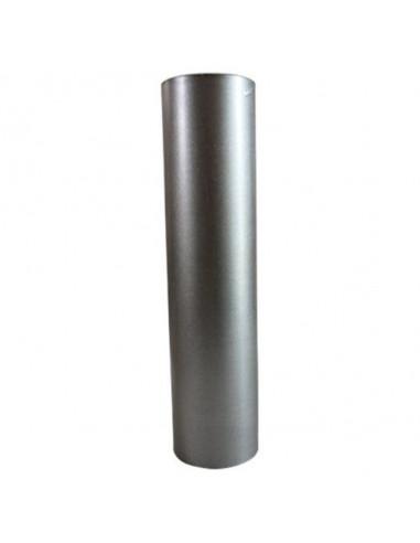 Кюнец за печка, Ø120 мм, 500 мм, алуминизиран