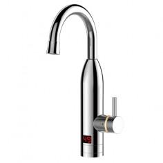 Електрически водонагревател със смесител - стоящ, метален корпус