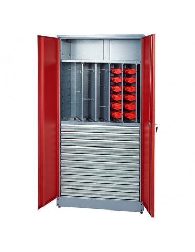 Работен шкаф за инструменти 45x91x180 cм, с двойна врата