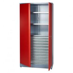 Работен шкаф за инструменти 45x91x180 cм, 2 рафта