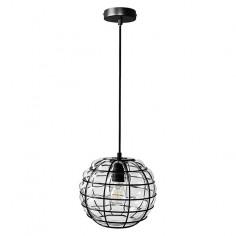 Пендел - 60 W, Е27, 145 см, сиво-черен