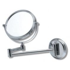 Козметично огледало за стенен монтаж , Ø150 мм