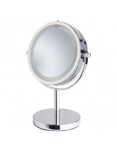 Козметично огледало с LED осветление Lea, трикратно увеличение