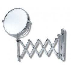 Козметично огледало за стенен монтаж, Ø150 мм