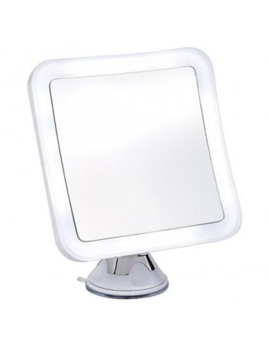 Козметично огледало с LED осветление Linda, 10х увеличение