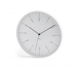 Imagén: Часовник за стена CARA - цвят бял - philippi