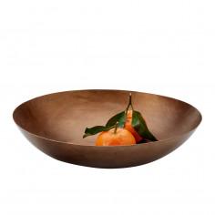 Купа / фруктиера PLATTER - размер L - цвят бронз - philippi