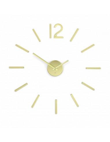 "Часовник за стена ""BLINK"" - цвят месинг - UMBRA"
