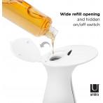 """Сензорен диспенсър за сапун """"OTTO"""" - 250 мл - цвят бял - UMBRA"""