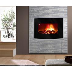 Електрическа камина - стенна 566х880х140 мм