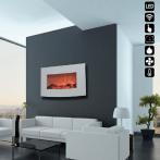 Електрическа камина - стенна 560х900х134 мм